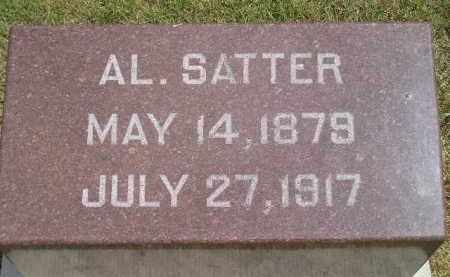 SATTER, AL. - Miner County, South Dakota | AL. SATTER - South Dakota Gravestone Photos