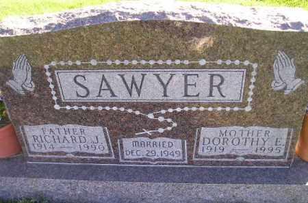 SAWYER, DOROTHY E. - Miner County, South Dakota   DOROTHY E. SAWYER - South Dakota Gravestone Photos