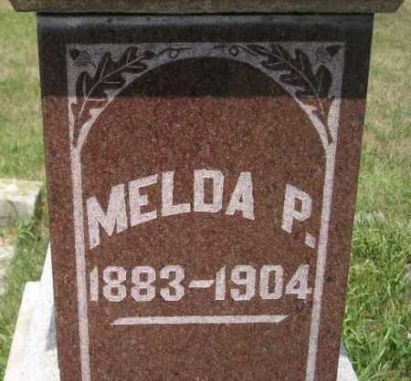 SCHAGER, MELDA P. - Miner County, South Dakota | MELDA P. SCHAGER - South Dakota Gravestone Photos