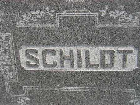 SCHILDT, FAMILY STONE - Miner County, South Dakota | FAMILY STONE SCHILDT - South Dakota Gravestone Photos