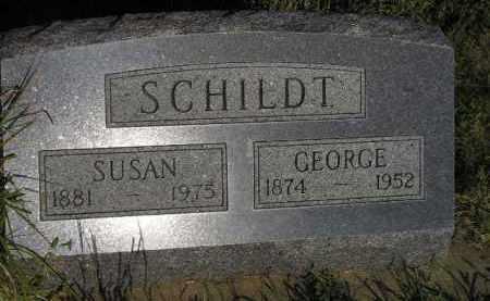 SCHILDT, GEORGE - Miner County, South Dakota | GEORGE SCHILDT - South Dakota Gravestone Photos
