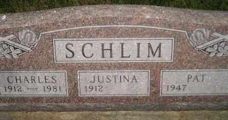 KAISER SCHLIM, JUSTINA THERESA - Miner County, South Dakota   JUSTINA THERESA KAISER SCHLIM - South Dakota Gravestone Photos