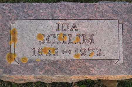 SCHLIM, IDA - Miner County, South Dakota | IDA SCHLIM - South Dakota Gravestone Photos