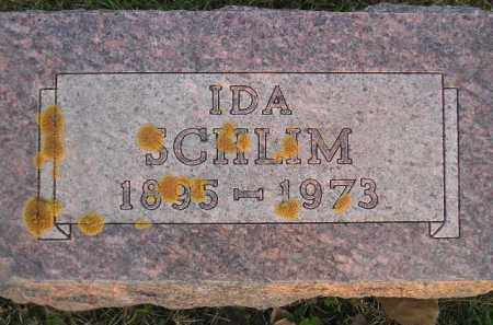 SCHLIM, IDA - Miner County, South Dakota | IDA SCHLIM - South Dakota Gravestone Photos