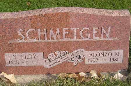 SCHMETGEN, ALONZO M. - Miner County, South Dakota | ALONZO M. SCHMETGEN - South Dakota Gravestone Photos