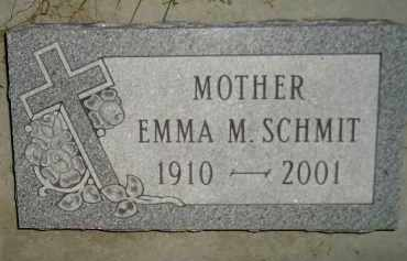 SCHMIT, EMMA M. - Miner County, South Dakota | EMMA M. SCHMIT - South Dakota Gravestone Photos