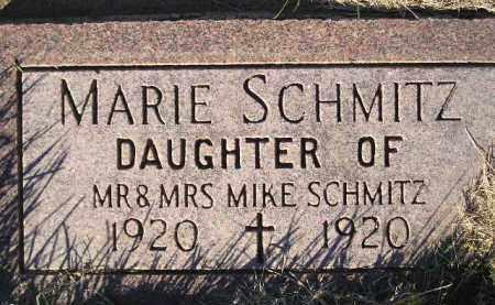 SCHMITZ, MARIE - Miner County, South Dakota | MARIE SCHMITZ - South Dakota Gravestone Photos