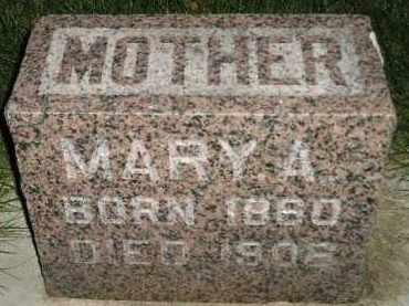 SCHMITZ, MARY A. - Miner County, South Dakota | MARY A. SCHMITZ - South Dakota Gravestone Photos