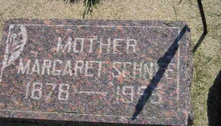 SCHNEE, MARGARET - Miner County, South Dakota | MARGARET SCHNEE - South Dakota Gravestone Photos