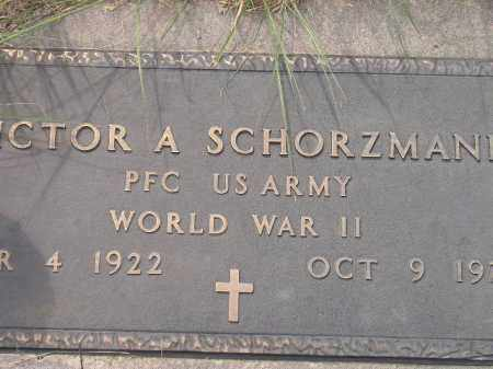 SCHORZMANN, VICTOR A. (WW II) - Miner County, South Dakota | VICTOR A. (WW II) SCHORZMANN - South Dakota Gravestone Photos