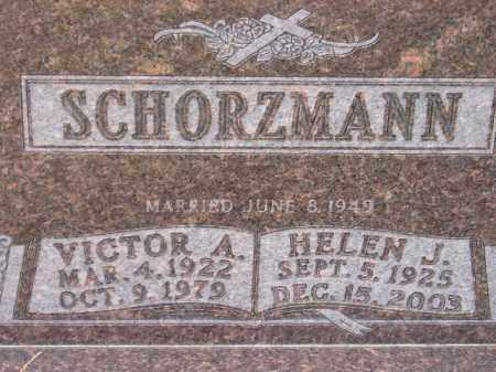 SCHORZMANN, VICTOR A. - Miner County, South Dakota | VICTOR A. SCHORZMANN - South Dakota Gravestone Photos