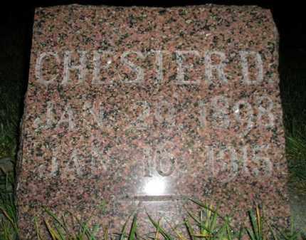 SCHRAMM, CHESTER D. - Miner County, South Dakota | CHESTER D. SCHRAMM - South Dakota Gravestone Photos