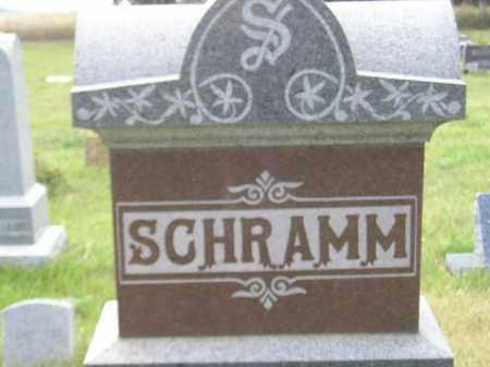 SCHRAMM, FAMILY STONE - Miner County, South Dakota | FAMILY STONE SCHRAMM - South Dakota Gravestone Photos