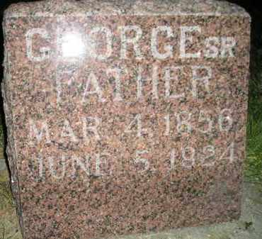 SCHRAMM, GEORGE SR. - Miner County, South Dakota | GEORGE SR. SCHRAMM - South Dakota Gravestone Photos