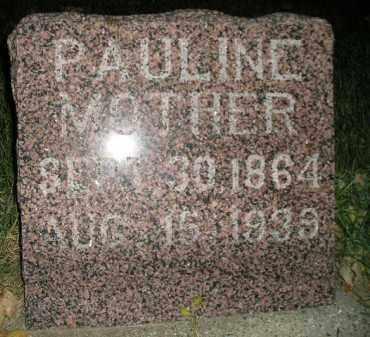 SCHRAMM, PAULINE - Miner County, South Dakota | PAULINE SCHRAMM - South Dakota Gravestone Photos