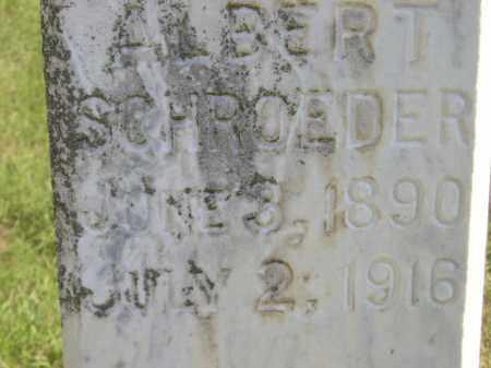 SCHROEDER, ALBERT - Miner County, South Dakota | ALBERT SCHROEDER - South Dakota Gravestone Photos