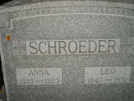 SCHROEDER, LEO - Miner County, South Dakota   LEO SCHROEDER - South Dakota Gravestone Photos