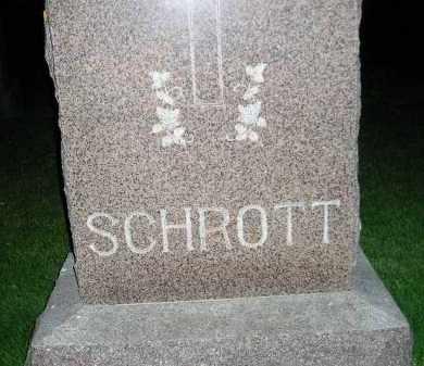 SCHROTT, FAMILY STONE - Miner County, South Dakota   FAMILY STONE SCHROTT - South Dakota Gravestone Photos