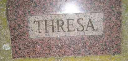HAUSER SCHROTT, THRESA - Miner County, South Dakota   THRESA HAUSER SCHROTT - South Dakota Gravestone Photos
