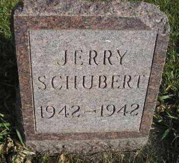 SCHUBERT, JERRY - Miner County, South Dakota   JERRY SCHUBERT - South Dakota Gravestone Photos