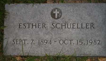 SCHUELLER, ESTHER - Miner County, South Dakota | ESTHER SCHUELLER - South Dakota Gravestone Photos