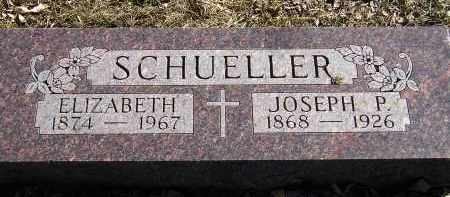 SCHUELLER, ELIZABETH - Miner County, South Dakota | ELIZABETH SCHUELLER - South Dakota Gravestone Photos