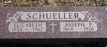 SCHROEDER SCHUELLER, ELIZABETH - Miner County, South Dakota | ELIZABETH SCHROEDER SCHUELLER - South Dakota Gravestone Photos