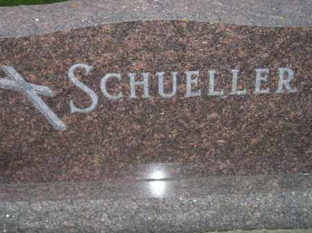 SCHUELLER, FAMILY STONE - Miner County, South Dakota | FAMILY STONE SCHUELLER - South Dakota Gravestone Photos