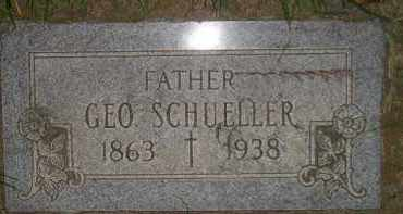 SCHUELLER, GEORGE - Miner County, South Dakota   GEORGE SCHUELLER - South Dakota Gravestone Photos