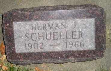 SCHUELLER, HERMAN J. - Miner County, South Dakota | HERMAN J. SCHUELLER - South Dakota Gravestone Photos