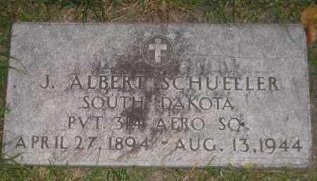 SCHUELLER, J. ALBERT - Miner County, South Dakota | J. ALBERT SCHUELLER - South Dakota Gravestone Photos