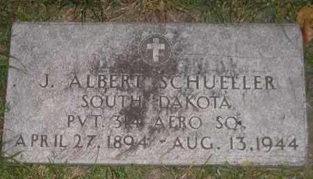 SCHUELLER, J. ALBERT - Miner County, South Dakota | J. ALBERT SCHUELLER - South Dakota Gravestone Photos
