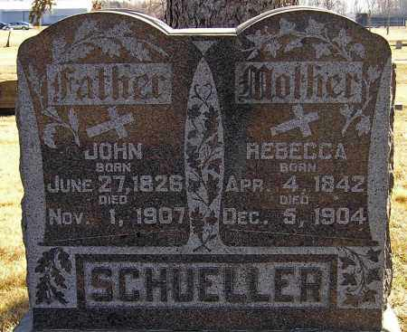 SCHUELLER, REBECCA - Miner County, South Dakota | REBECCA SCHUELLER - South Dakota Gravestone Photos