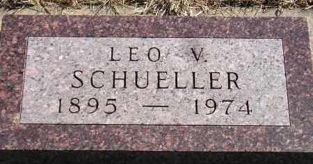 SCHUELLER, LEO V. - Miner County, South Dakota | LEO V. SCHUELLER - South Dakota Gravestone Photos