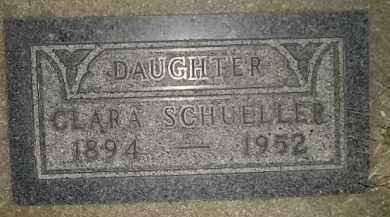 SCHUELLER, CLARA - Miner County, South Dakota | CLARA SCHUELLER - South Dakota Gravestone Photos