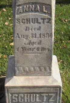 SCHULTZ, ANNA L. - Miner County, South Dakota   ANNA L. SCHULTZ - South Dakota Gravestone Photos