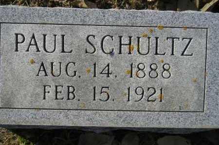 SCHULTZ, PAUL - Miner County, South Dakota | PAUL SCHULTZ - South Dakota Gravestone Photos