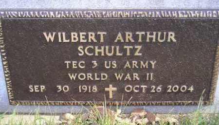 SCHULTZ, WILBERT ARTHUR (WW II) - Miner County, South Dakota | WILBERT ARTHUR (WW II) SCHULTZ - South Dakota Gravestone Photos