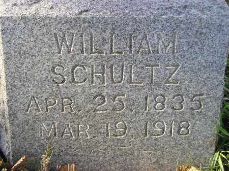 SCHULTZ, WILLIAM - Miner County, South Dakota   WILLIAM SCHULTZ - South Dakota Gravestone Photos