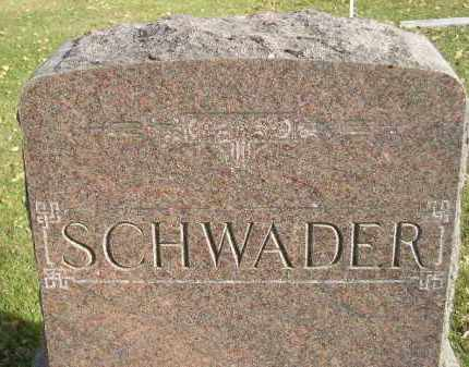 SCHWADER, FAMILY STONE - Miner County, South Dakota | FAMILY STONE SCHWADER - South Dakota Gravestone Photos