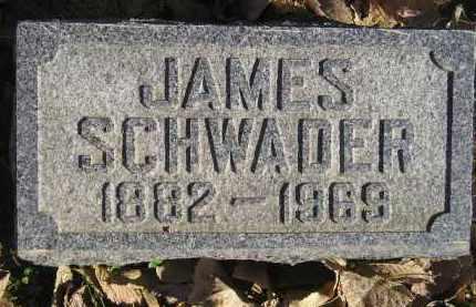 SCHWADER, JAMES - Miner County, South Dakota | JAMES SCHWADER - South Dakota Gravestone Photos