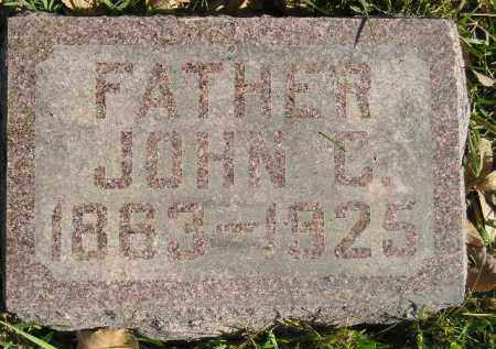 SCHWADER, JOHN C. - Miner County, South Dakota | JOHN C. SCHWADER - South Dakota Gravestone Photos