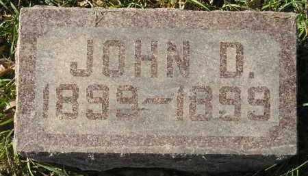 SCHWADER, JOHN D. - Miner County, South Dakota | JOHN D. SCHWADER - South Dakota Gravestone Photos