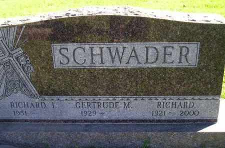 SCHWADER, GERTRUDE MONICA - Miner County, South Dakota | GERTRUDE MONICA SCHWADER - South Dakota Gravestone Photos