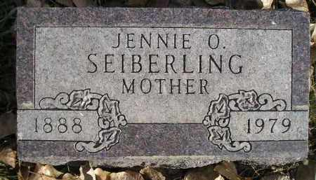 SEIBERLING, JENNIE O. - Miner County, South Dakota | JENNIE O. SEIBERLING - South Dakota Gravestone Photos