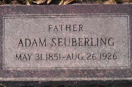 SEUBERLING, ADAM - Miner County, South Dakota | ADAM SEUBERLING - South Dakota Gravestone Photos