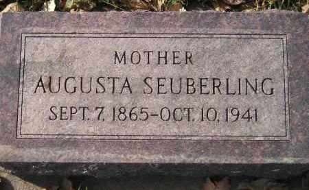 SEUBERLING, AUGUSTA - Miner County, South Dakota | AUGUSTA SEUBERLING - South Dakota Gravestone Photos