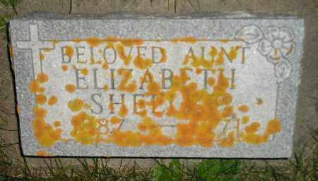 SHEELEY, ELIZABETH - Miner County, South Dakota | ELIZABETH SHEELEY - South Dakota Gravestone Photos