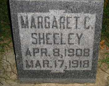 SHEELEY, MARGARET C. - Miner County, South Dakota   MARGARET C. SHEELEY - South Dakota Gravestone Photos