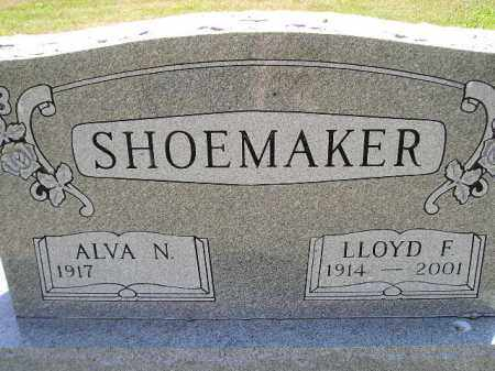 SHOEMAKER, LLOYD F. - Miner County, South Dakota | LLOYD F. SHOEMAKER - South Dakota Gravestone Photos